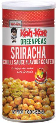 Sriracha Chilli Vihreä Herne 180g