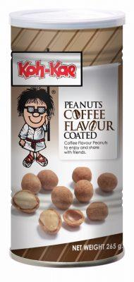 Kahvinmakuisia maapähkinöitä 265g
