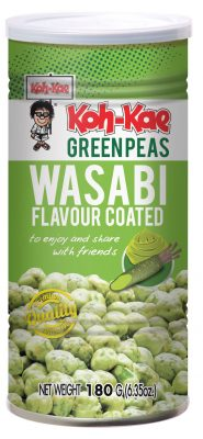 Wasabin makuisia vihreitä herneitä 180g